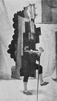 Costuum ontworpen door Picasso